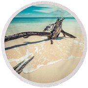 Locked Round Beach Towel