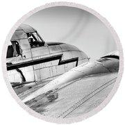 Lockheed Electra 12 Round Beach Towel