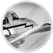 Lockheed Electra 12 Round Beach Towel