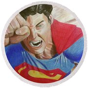 Lois' Death Round Beach Towel
