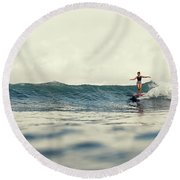 Lola Round Beach Towel