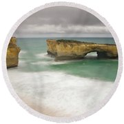 London Bridge 2 Round Beach Towel