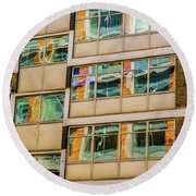London Southwark Architecture 1 Round Beach Towel