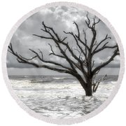 Lonesome Round Beach Towel