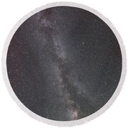 Round Beach Towel featuring the photograph Look To The Heavens by Sandra Bronstein