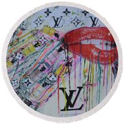 Louis Vuitton The Magnificent Seven 3 Round Beach Towel