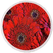 Love Is - You 139 Round Beach Towel
