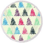 Lovely Pattern II Round Beach Towel