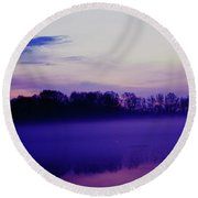 Loves Passion Round Beach Towel