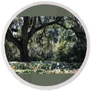 Low Country Series II Round Beach Towel