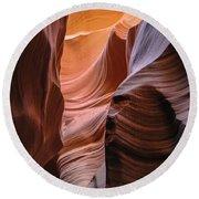 Lower Antelope Canyon Navajo Tribal Park #1 Round Beach Towel