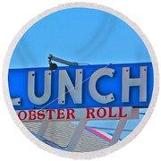 Lunch Round Beach Towel