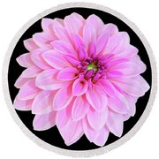 Luscious Layers Of Pink Beauty Round Beach Towel