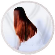 Hair Round Beach Towel