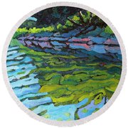 Lyndhurst Shoreline Round Beach Towel