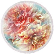 Lynia Round Beach Towel
