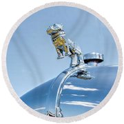 Mack Hood Ornament Round Beach Towel