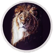 Maestro Round Beach Towel by Barbara Keith