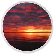 Round Beach Towel featuring the photograph Magic In My Lens by Greta Larson Photography