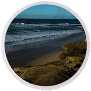Magic Sands Round Beach Towel