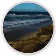 Magic Sands Round Beach Towel