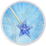 Magic Wand Round Beach Towel