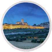 Magical Assisi Round Beach Towel