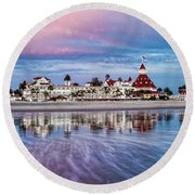 Magical Moment Horizontal Round Beach Towel