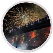 Magnaball Finale Round Beach Towel