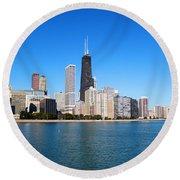 Magnificent Chicago Round Beach Towel