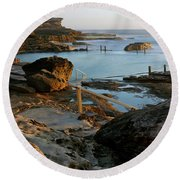 Mahon Pool Round Beach Towel