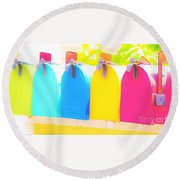 Mail For You Round Beach Towel