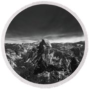 Round Beach Towel featuring the photograph Majestic- by JD Mims