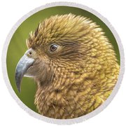 Kea Portrait Round Beach Towel