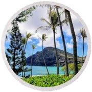 Makapuu Paradise Round Beach Towel
