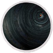 Make A Good Catch - Ecological Disaster  - Drilling Permit - Offshore - Energy - Crude - Petri Heil Round Beach Towel