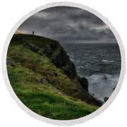 Malin Head Round Beach Towel