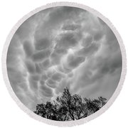 Mammatus Dance Round Beach Towel