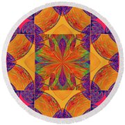Mandala #2  Round Beach Towel