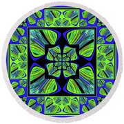 Mandala #22 Round Beach Towel