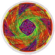Mandala #55 Round Beach Towel