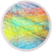 Map Of The Universe Round Beach Towel
