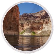 Marble Canyon Grand Canyon National Park Round Beach Towel