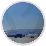 Marfa Texas Round Beach Towel