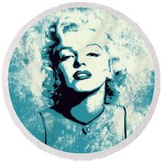 Marilyn Monroe - 201 Round Beach Towel
