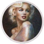 Marilyn Ww Soft Round Beach Towel