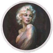 Marilyn Ww  Round Beach Towel