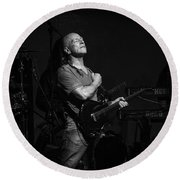Mark Farner Gfr Round Beach Towel