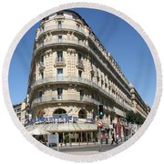 Marseille, France Round Beach Towel
