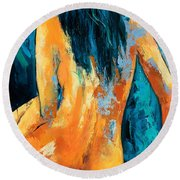 Mary Lou Round Beach Towel